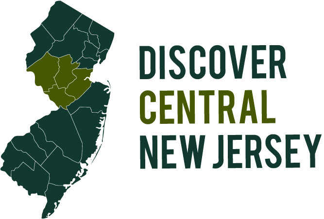 discover central new jersey logo image in footer of website