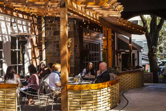 discover central new jersey outside decor for eatery