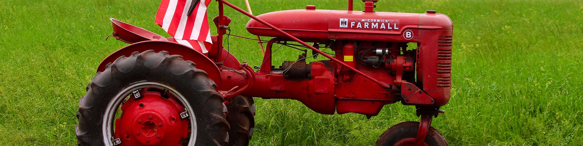 discover central new jersey image of a red tractor in farms
