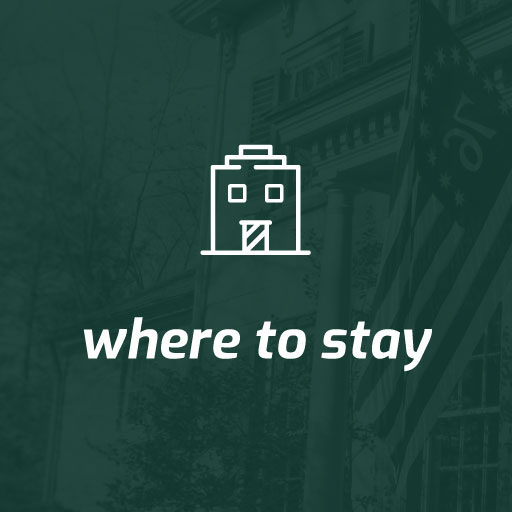 where to stay button green with white text